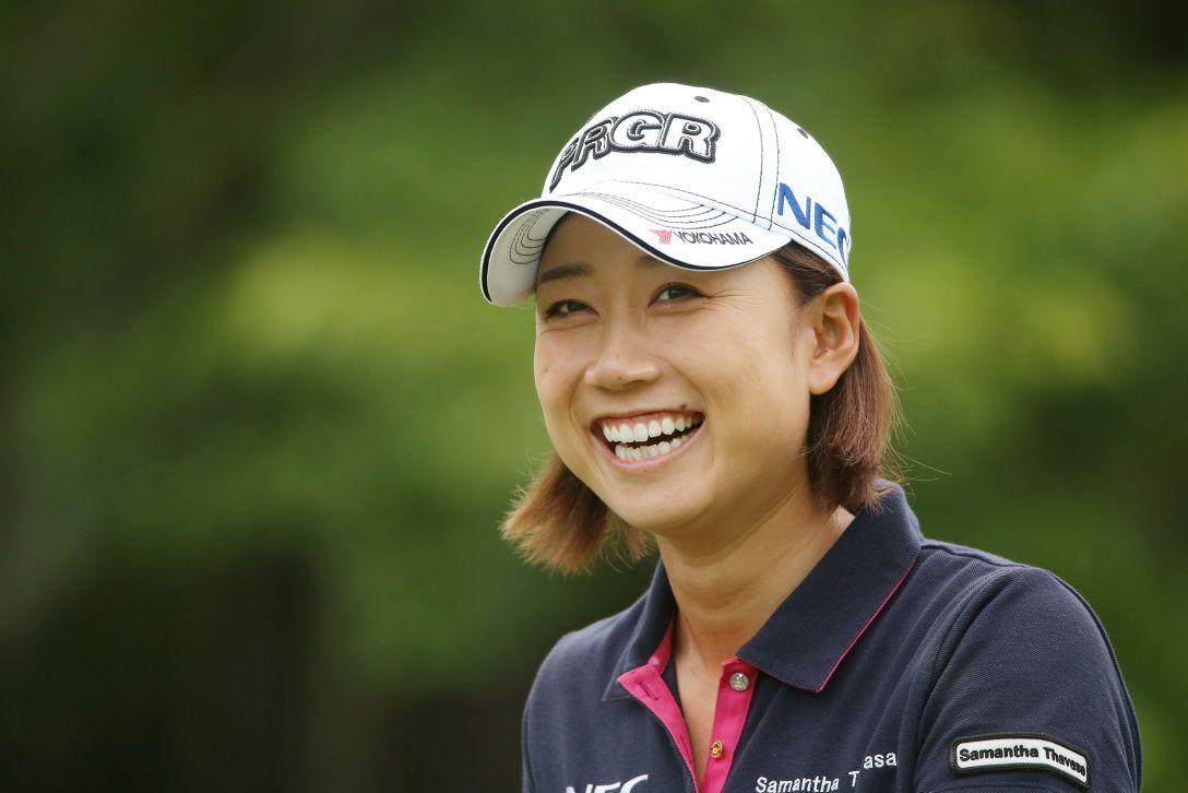 サントリーレディスオープンゴルフトーナメント 1日目 原江里菜