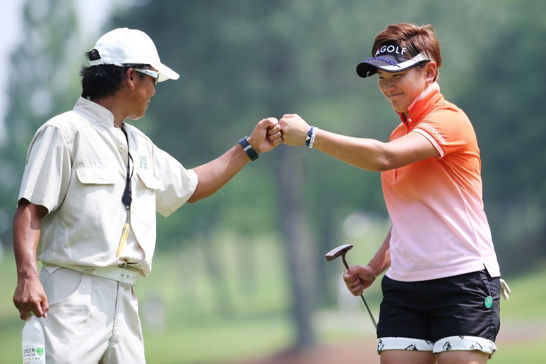 サントリーレディスオープンゴルフトーナメント 2日目 成田 美寿々
