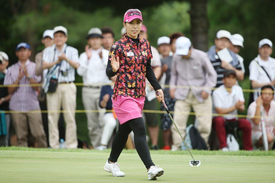 サントリーレディスオープンゴルフトーナメント 3日目 笠りつ子