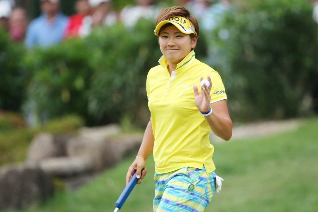サントリーレディスオープンゴルフトーナメント 3日目 成田 美寿々