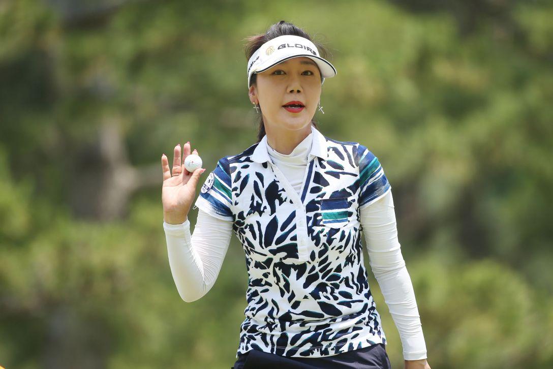 サントリーレディスオープンゴルフトーナメント 3日目 姜秀衍