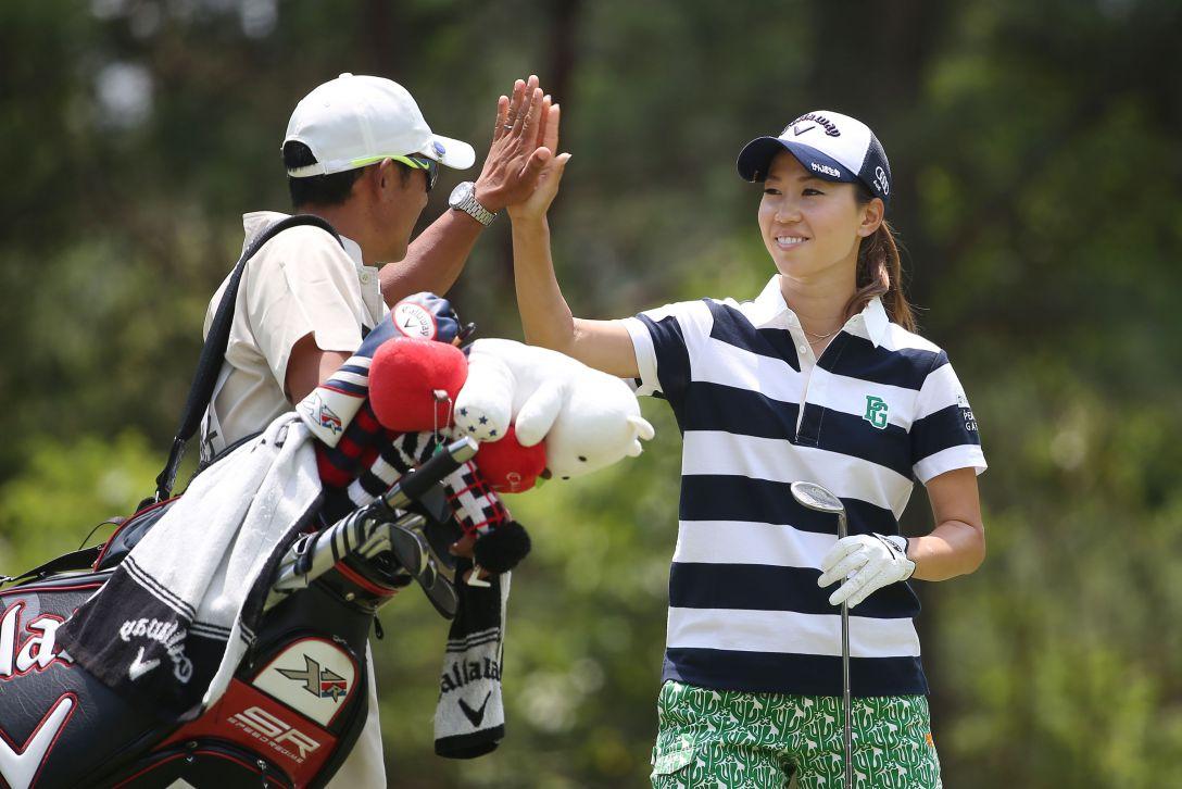 サントリーレディスオープンゴルフトーナメント 3日目 上田桃子
