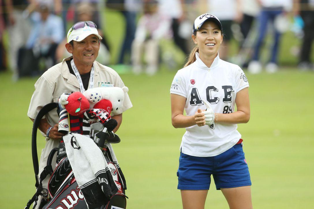 サントリーレディスオープンゴルフトーナメント 最終日 上田桃子