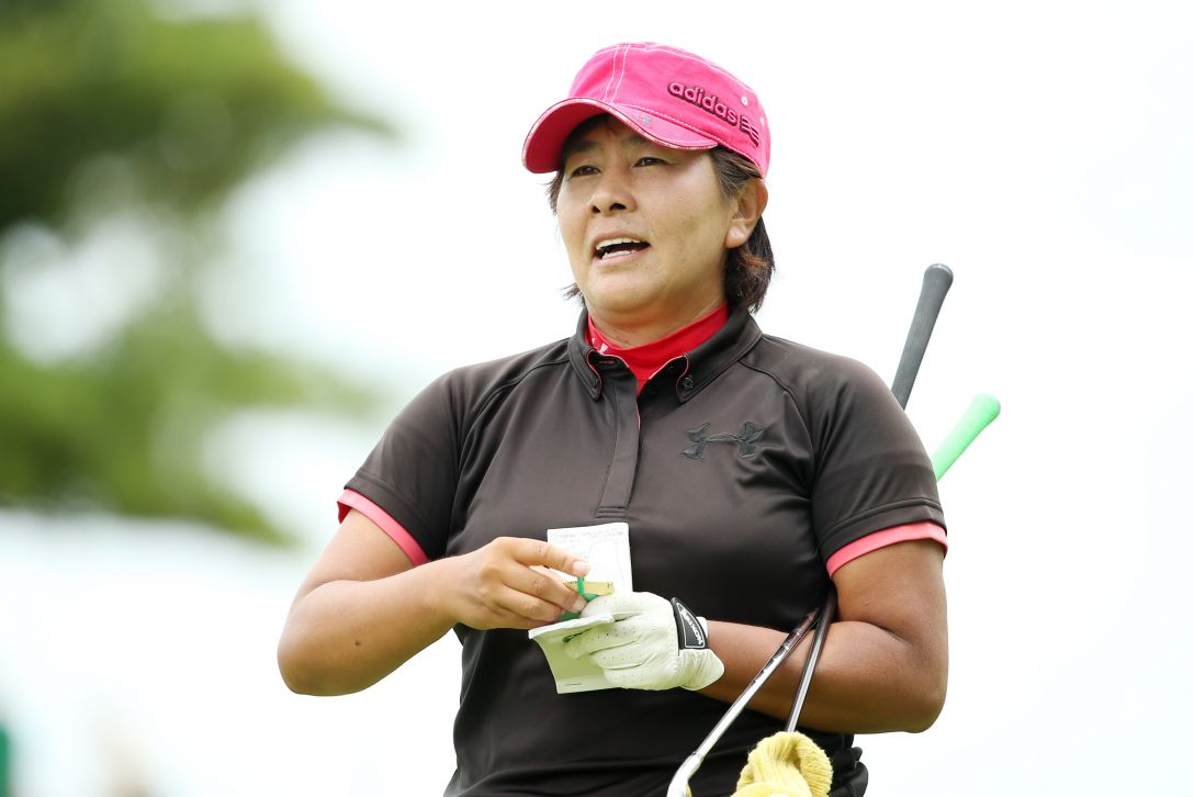 LPGAレジェンズチャンピオンシップアイザックカップ 2日目 渕 久美子