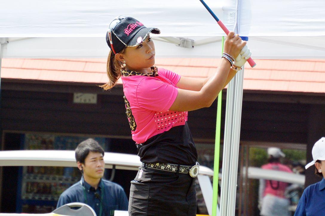 KCFG レディースゴルフトーナメント 1日目 金田愛子