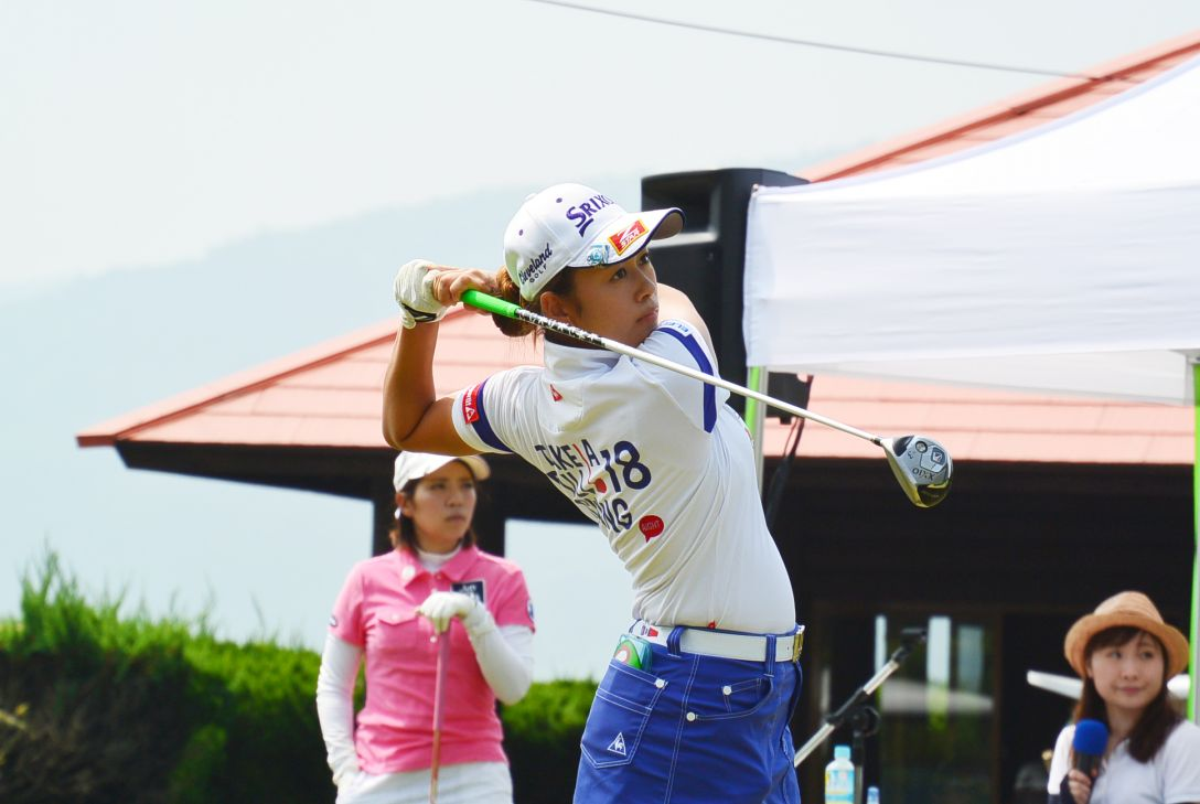 KCFG レディースゴルフトーナメント 1日目 小橋絵利子