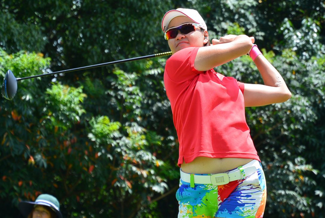 KCFG レディースゴルフトーナメント 最終日 ベイブ・リュウ