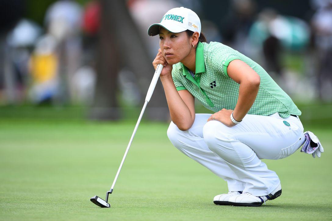 NEC軽井沢72ゴルフ 1日目 若林舞衣子<写真:Masterpress/Getty Images>