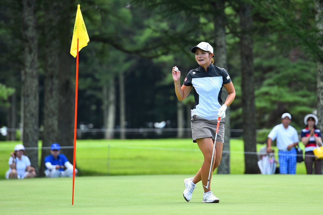 NEC軽井沢72ゴルフ 2日目 渡邉彩香<写真:Masterpress/Getty Images>