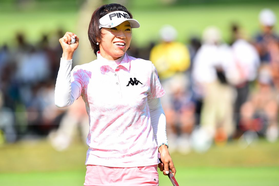 NEC軽井沢72ゴルフ 2日目 大山志保<写真:Masterpress/Getty Images>