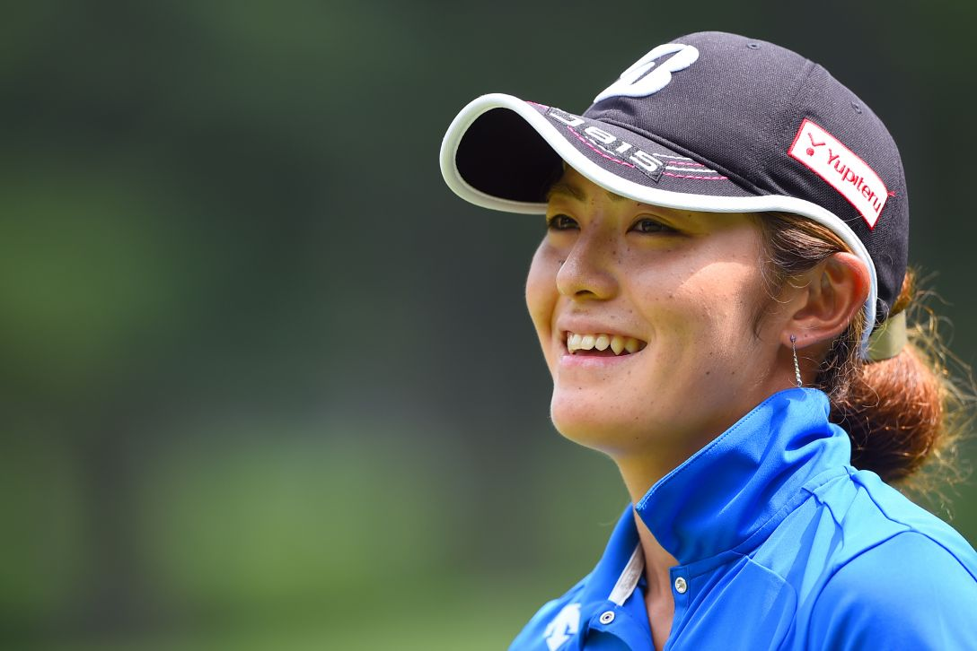 NEC軽井沢72ゴルフ 最終日 渡邉彩香<写真:Masterpress/Getty Images>