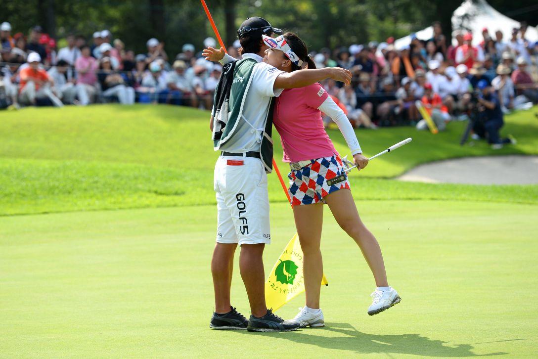 NEC軽井沢72ゴルフ 最終日 テレサ・ルー<写真:Masterpress/Getty Images>