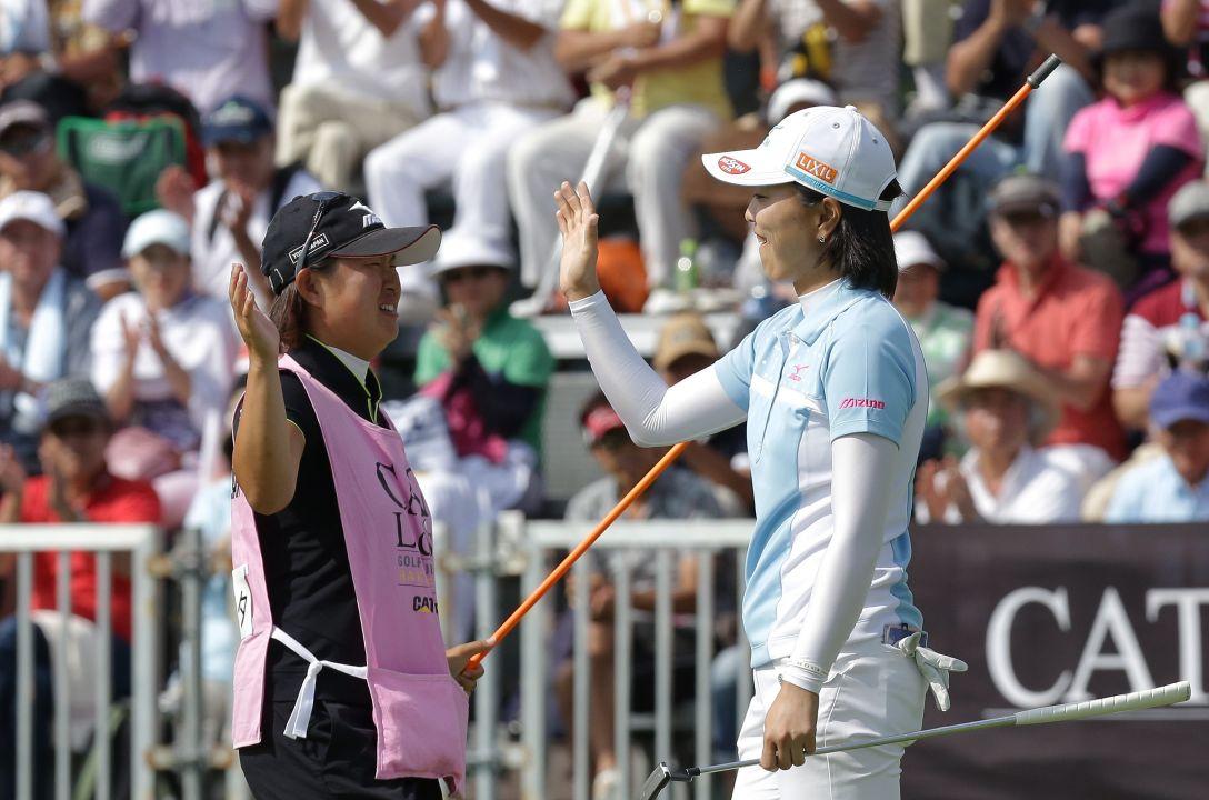 CAT Ladies 最終日 服部 真夕<写真:Chung Sung-Jun/Getty Images>