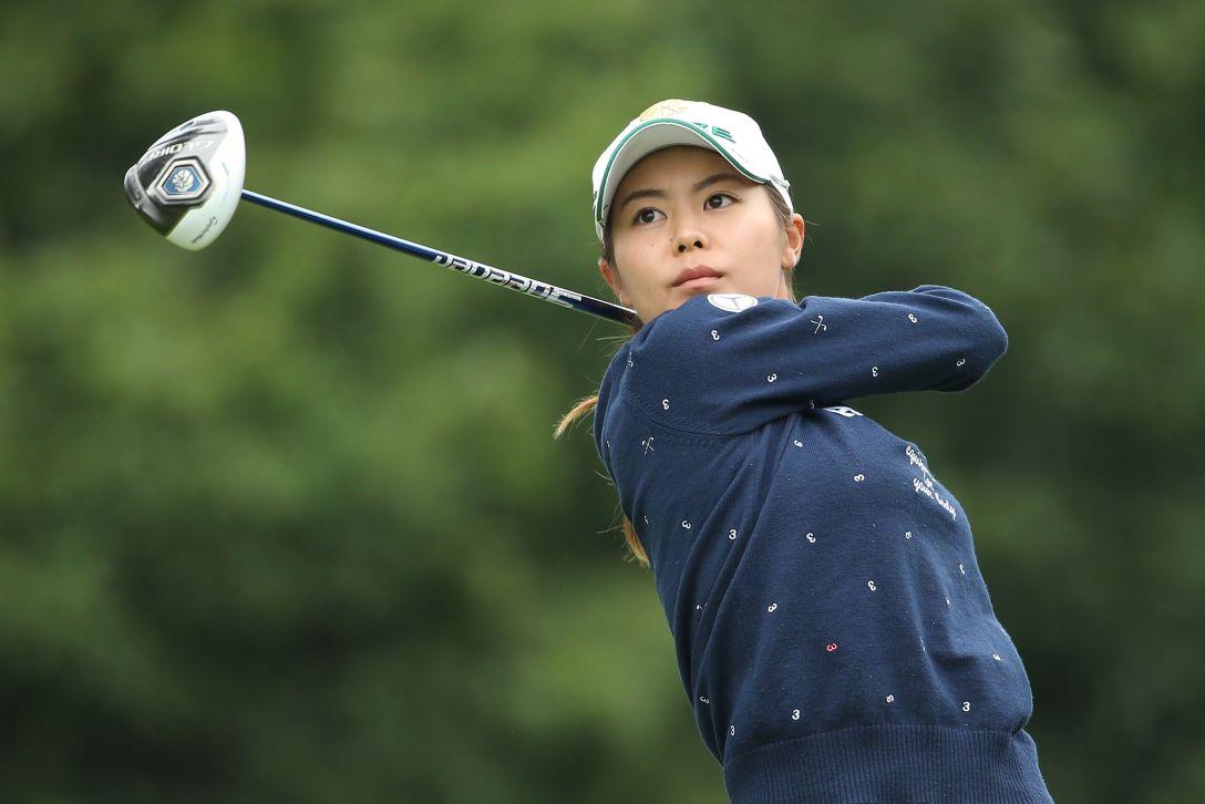ニトリレディスゴルフトーナメント 1日目 松森 彩夏 <写真:Atsushi Tomura/Getty Images>