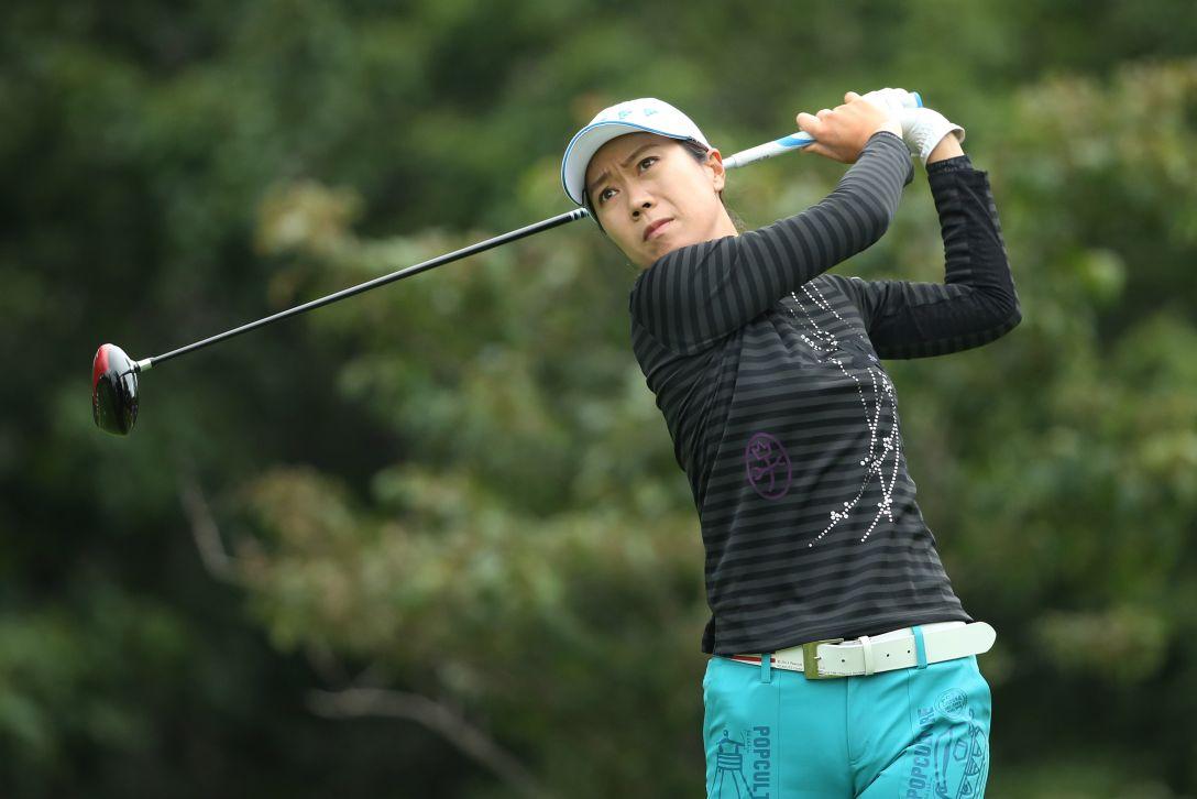 ニトリレディスゴルフトーナメント 1日目 李知姫 <写真:Atsushi Tomura/Getty Images>