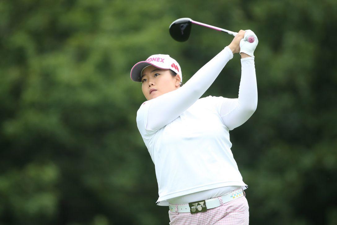 ニトリレディスゴルフトーナメント 1日目 アンソンジュ <写真:Atsushi Tomura/Getty Images>