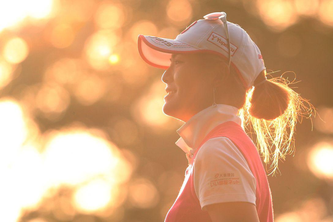 ニトリレディスゴルフトーナメント 2日目 渡邉 彩香 <写真:Atsushi Tomura/Getty Images>