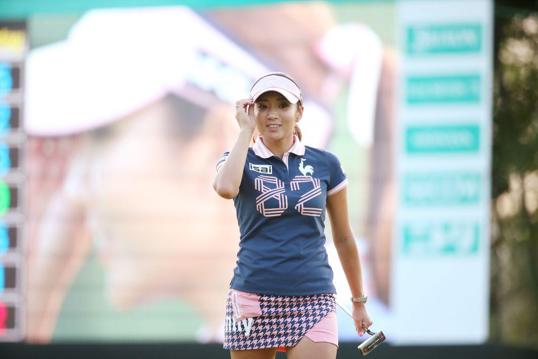 ニトリレディスゴルフトーナメント 2日目 イ ボミ <写真:Atsushi Tomura/Getty Images>