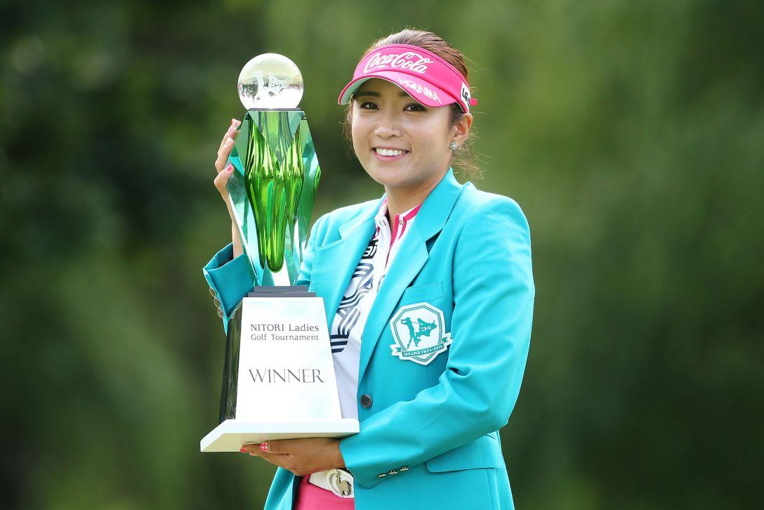 ニトリレディスゴルフトーナメント 最終日 イボミ <写真:Atsushi Tomura/Getty Images>