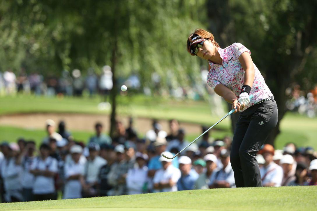 ニトリレディスゴルフトーナメント 最終日 穴井 詩 <写真:Atsushi Tomura/Getty Images>