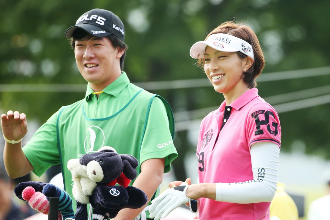 ゴルフ5レディス 1日目 佐藤靖子<写真:Atsushi Tomura/Getty Images>