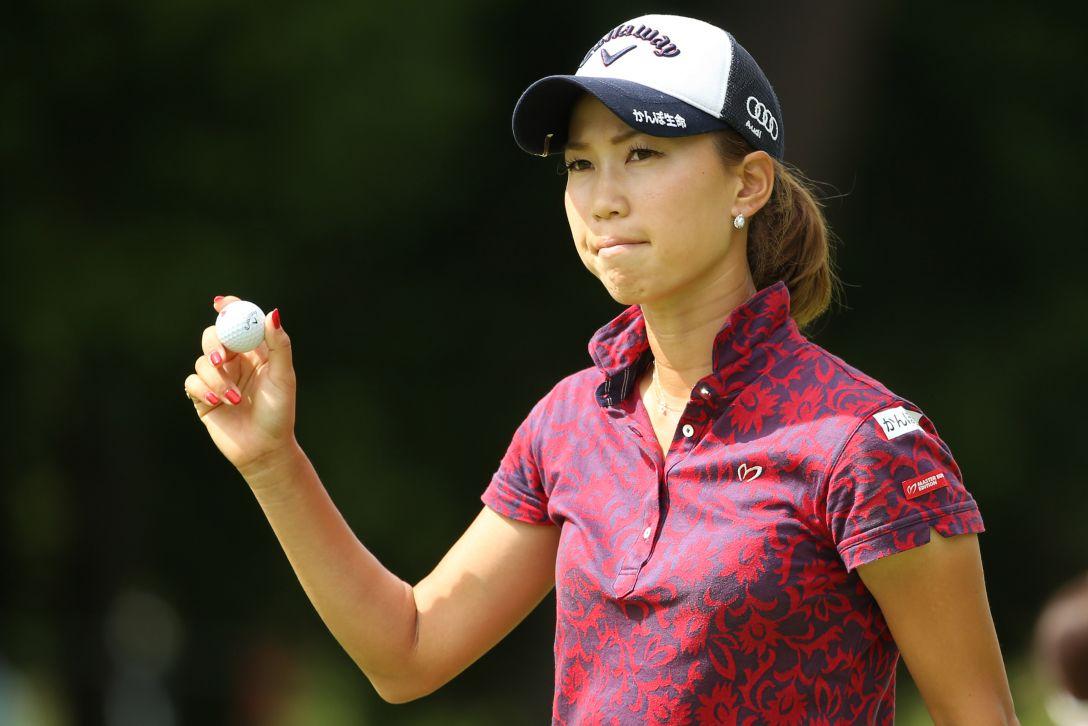 ゴルフ5レディス 2日目 上田桃子<写真:Atsushi Tomura/Getty Images>