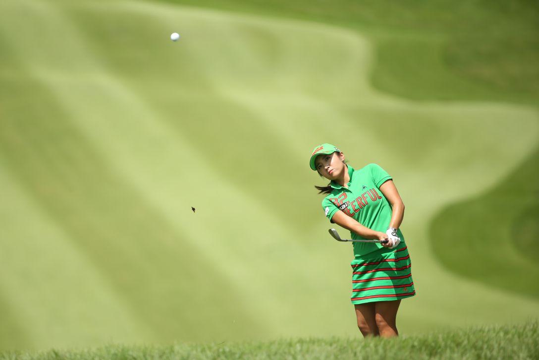 ゴルフ5レディス 2日目 イボミ<写真:Atsushi Tomura/Getty Images>