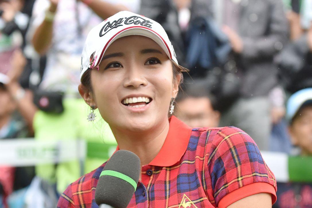 ゴルフ5レディス 最終日 イボミ<写真:Atsushi Tomura/Getty Images>
