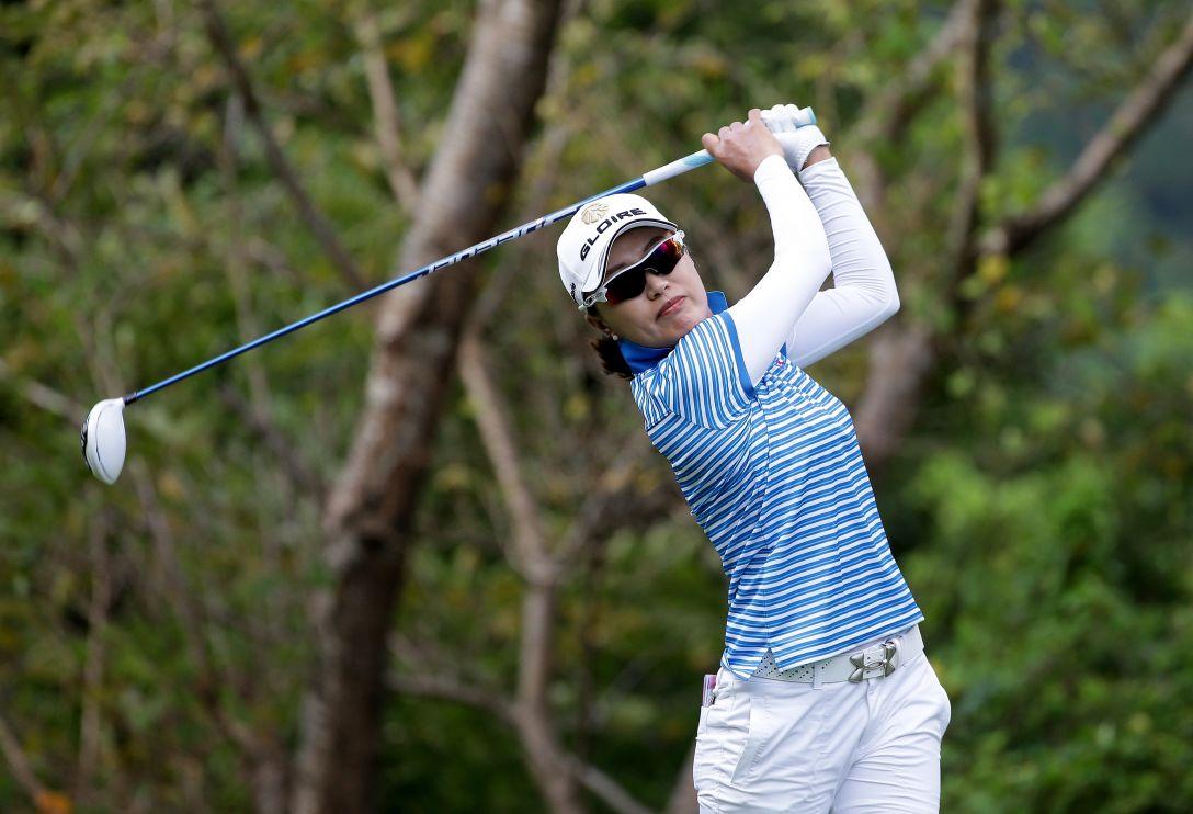 日本女子プロゴルフ選手権大会コニカミノルタ杯 1日目 ジャン ウンビ
