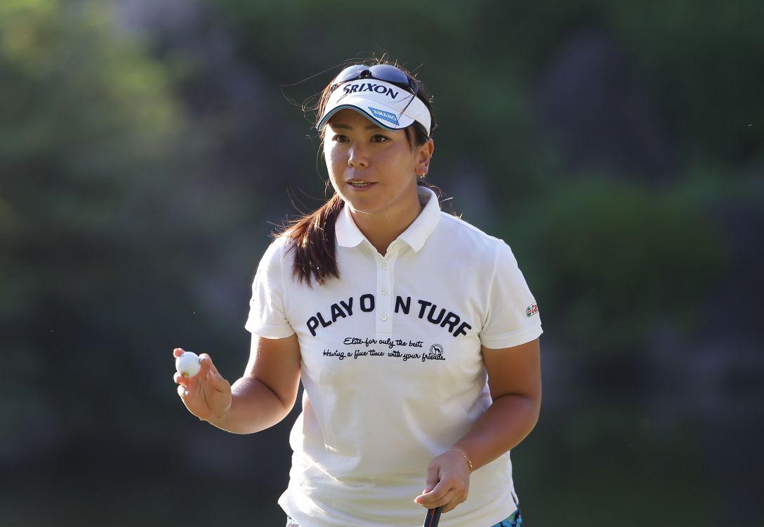 日本女子プロゴルフ選手権大会コニカミノルタ杯 1日目 吉田弓美子