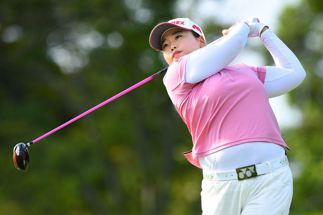 日本女子プロゴルフ選手権大会コニカミノルタ杯 1日目 アンソンジュ
