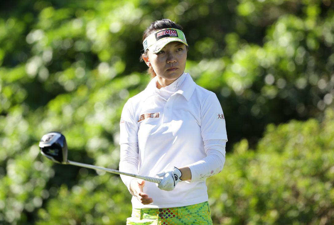 日本女子プロゴルフ選手権大会コニカミノルタ杯 2日目 テレサ・ルー