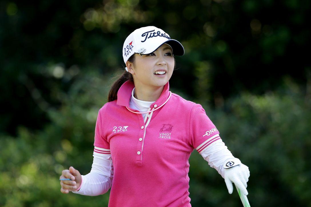 日本女子プロゴルフ選手権大会コニカミノルタ杯 1日目 菊地絵理香