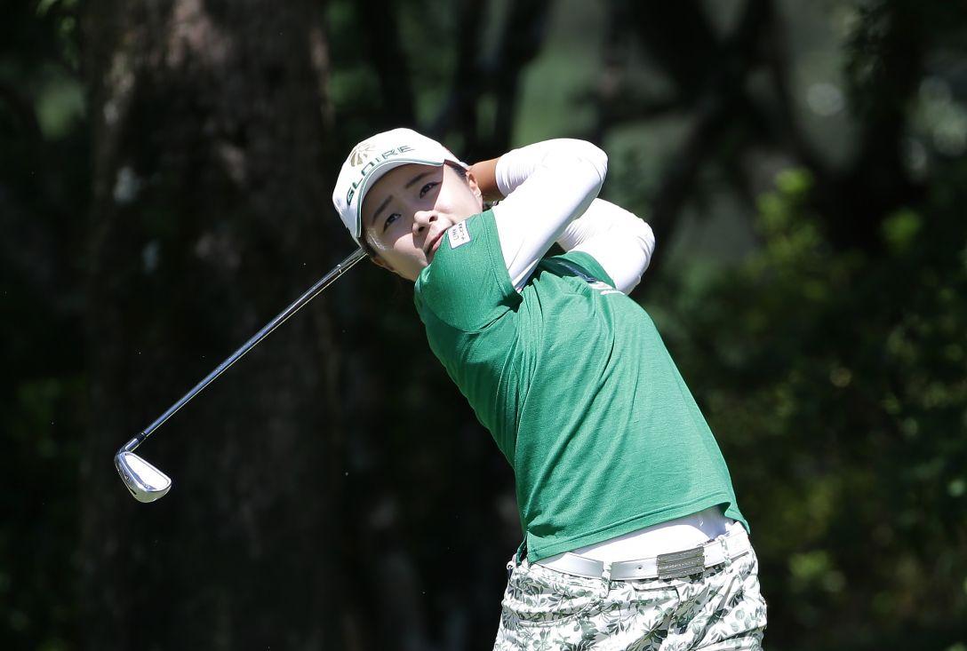 日本女子プロゴルフ選手権大会コニカミノルタ杯 2日目 永峰 咲希