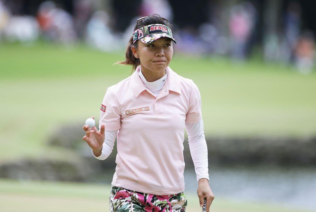 日本女子プロゴルフ選手権大会コニカミノルタ杯 3日目 テレサ・ルー