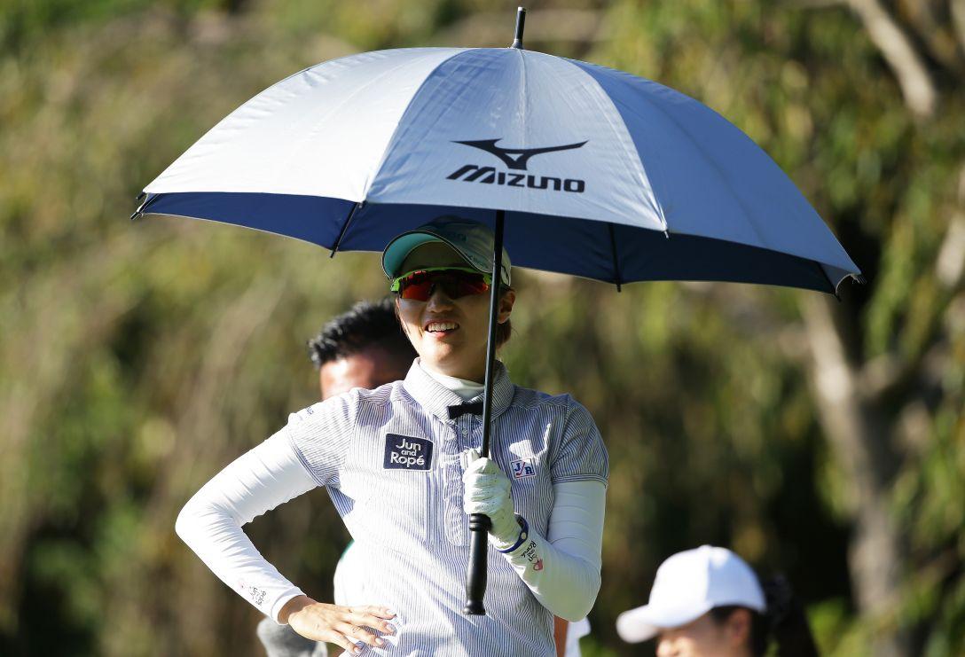日本女子プロゴルフ選手権大会 コニカミノルタ杯 2日目 飯島 茜