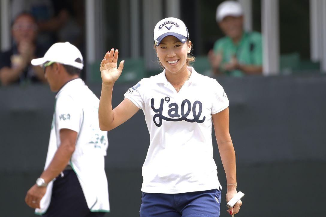 日本女子プロゴルフ選手権大会コニカミノルタ杯 3日目 上田 桃子