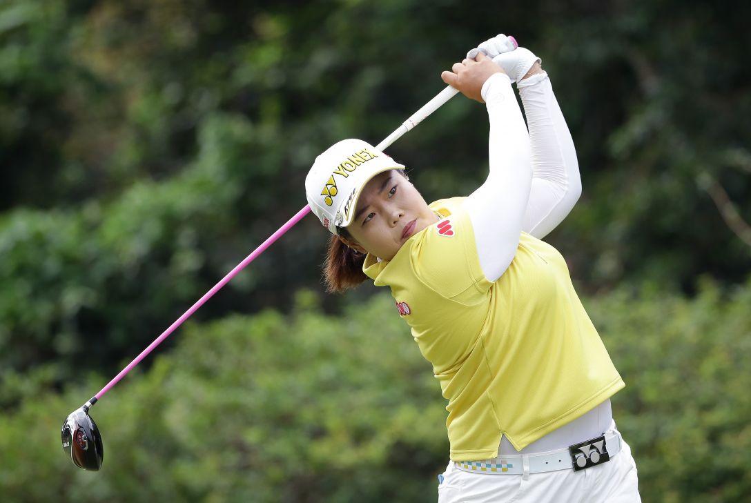 日本女子プロゴルフ選手権大会コニカミノルタ杯 3日目 アンソンジュ