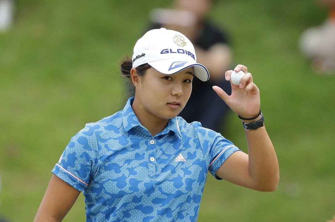 日本女子プロゴルフ選手権大会コニカミノルタ杯 3日目 永峰 咲希