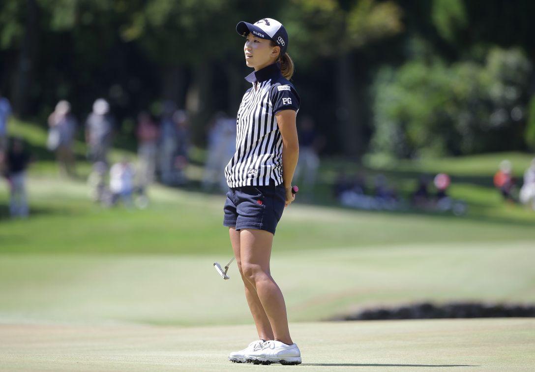 日本女子プロゴルフ選手権大会 コニカミノルタ杯 最終日 上田桃子