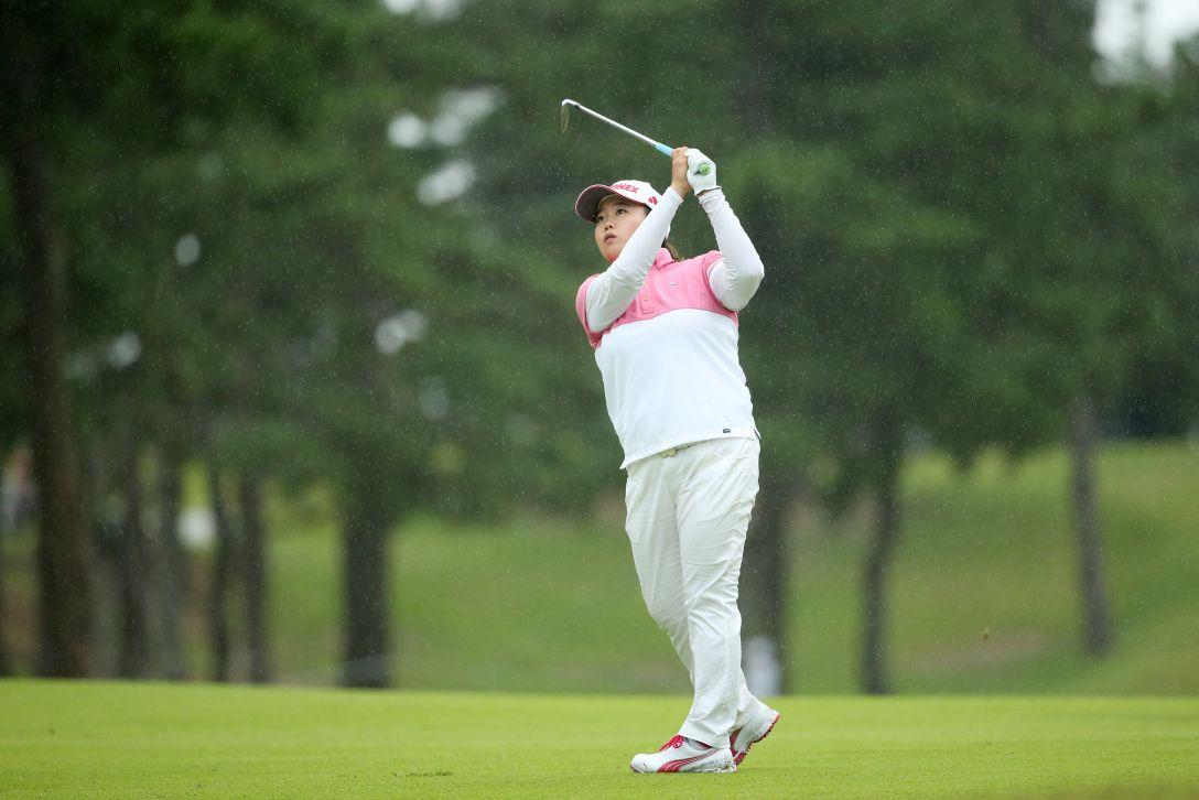 日本女子オープンゴルフ選手権 1日目 アンソンジュ<写真:Atsushi Tomura/Getty Images>