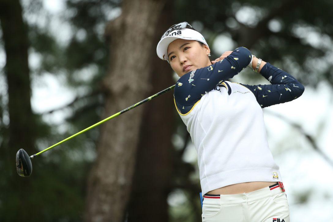 日本女子オープンゴルフ選手権 1日目 ユ ソヨン