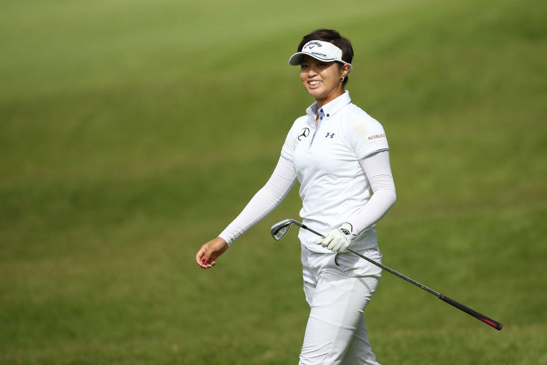 日本女子オープンゴルフ選手権 2日目 柏原明日架<写真:Atsushi Tomura/Getty Images>