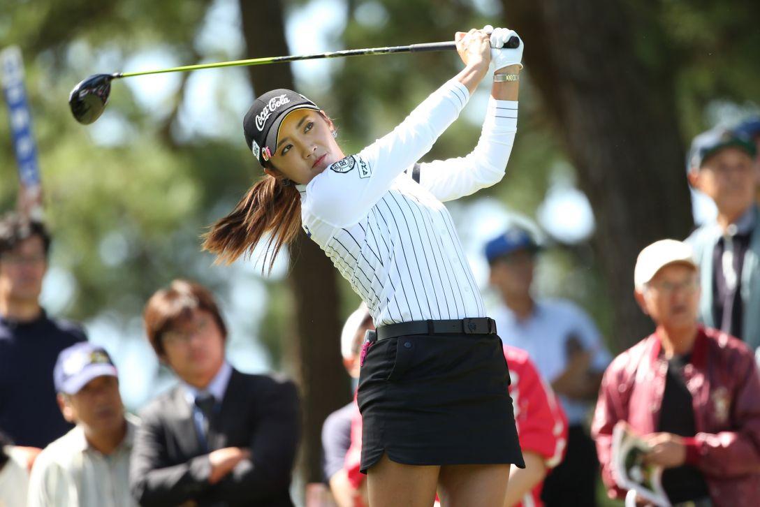 日本女子オープンゴルフ選手権 2日目 イボミ<写真:Atsushi Tomura/Getty Images>