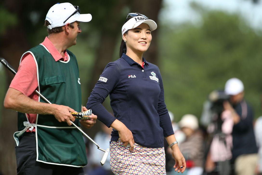 日本女子オープンゴルフ選手権 2日目 ユ ソヨン<写真:Atsushi Tomura/Getty Images>