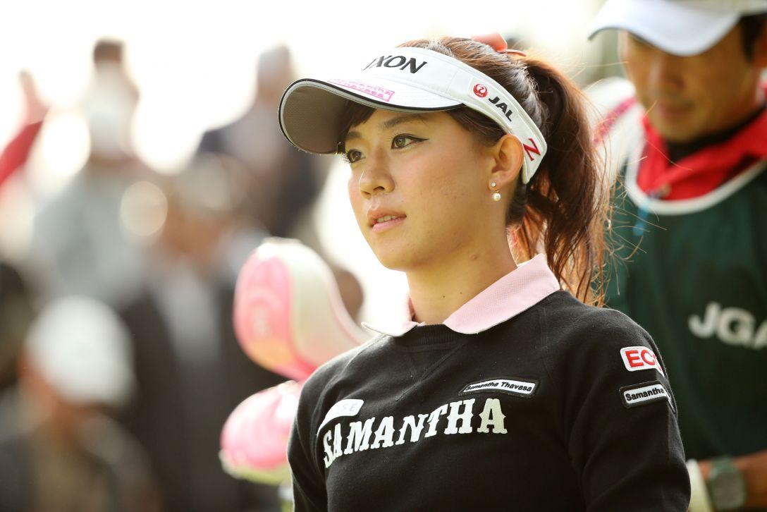 日本女子オープンゴルフ選手権 2日目 香妻琴乃<写真:Atsushi Tomura/Getty Images>