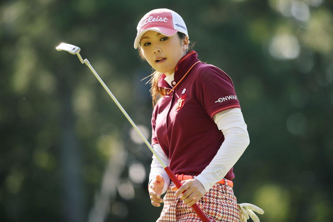 日本女子オープンゴルフ選手権 3日目 菊地絵理香 <写真:Atsushi Tomura/Getty Images>