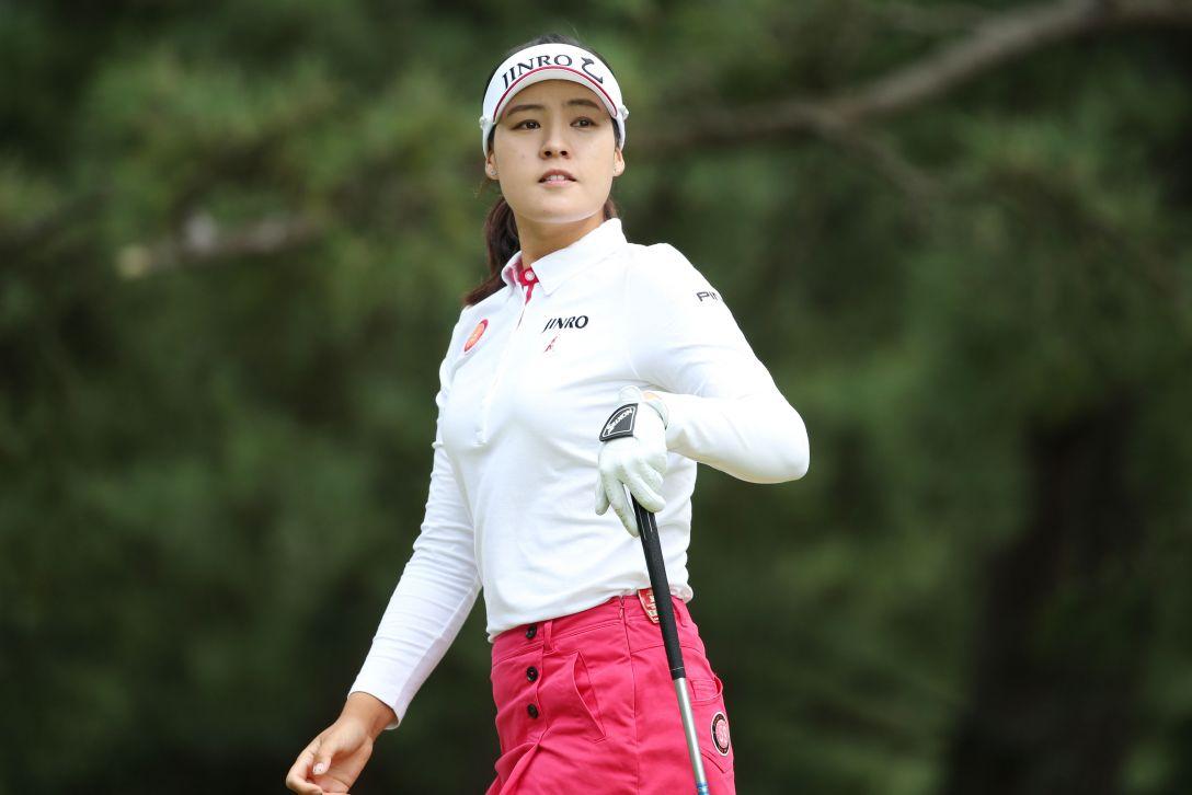 日本女子オープンゴルフ選手権 チョンインジ <写真:Atsushi Tomura/Getty Images>