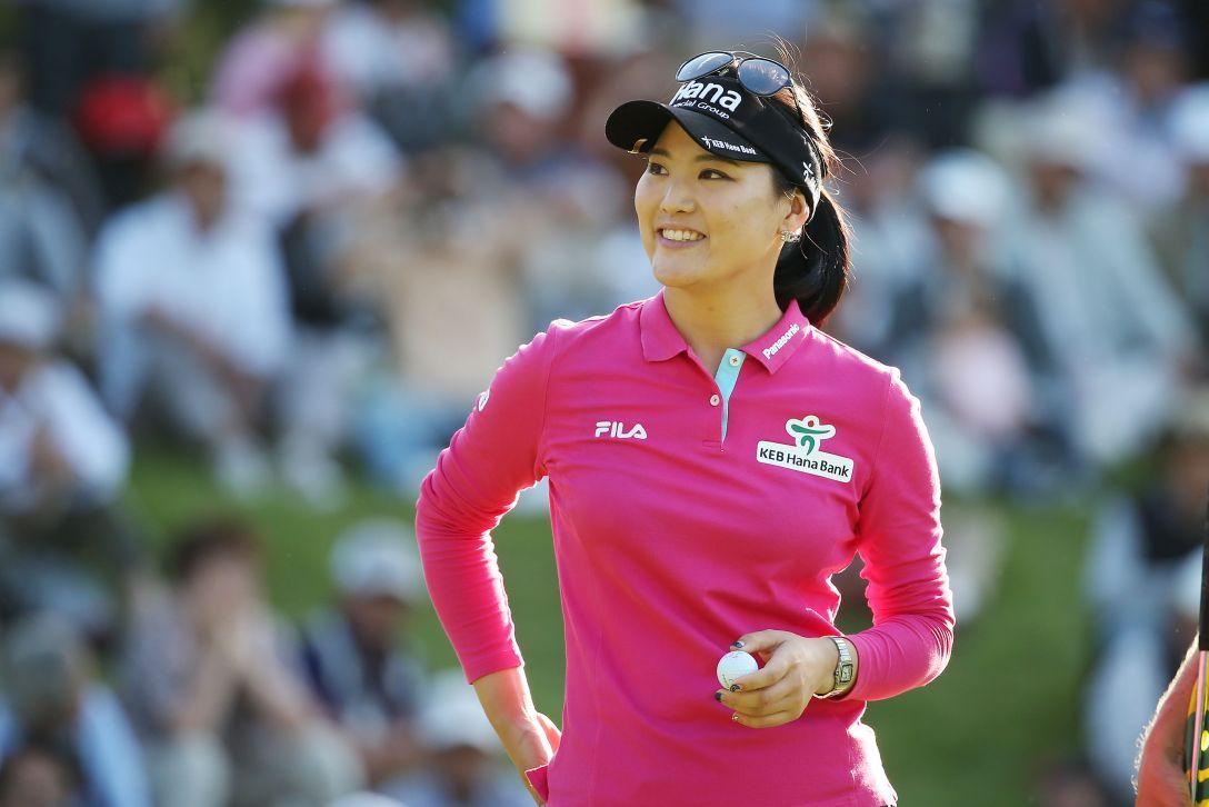 日本女子オープンゴルフ選手権 3日目 ユ ソヨン <写真:Atsushi Tomura/Getty Images>