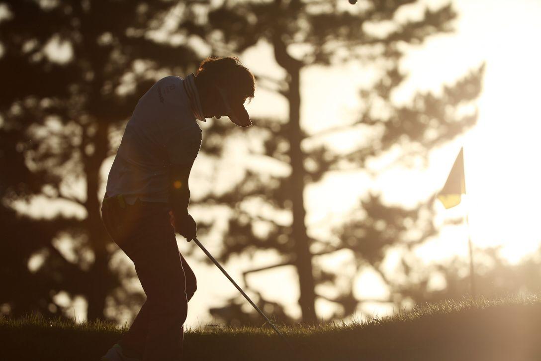 日本女子オープンゴルフ選手権 2日目 成田美寿々<写真:Atsushi Tomura/Getty Images>